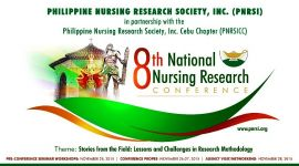 The 8th National Nursing Research Conference