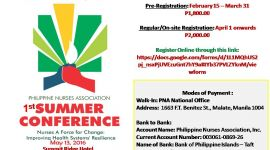 Save the Date! 1st PNA Summer Conference