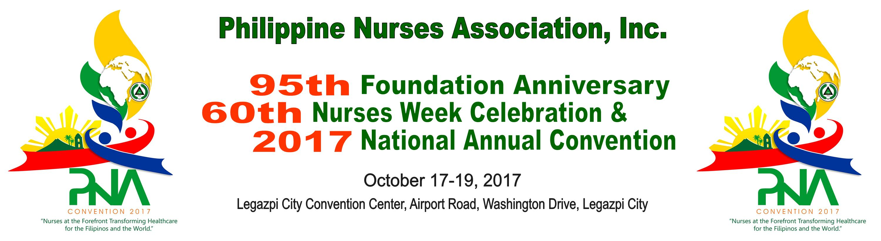 95th Foundation Anniversary, 60th Nurses Week Celebration and National Convention