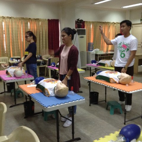 BLS ACLS Training (March 2017)