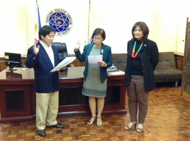 PRC - CPD Council Oathtaking