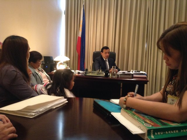 Audience with Sen Trillanes