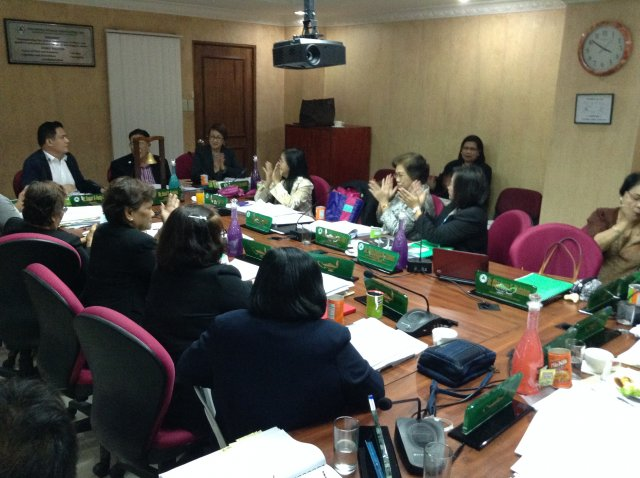 BOG Meeting (Jan 23-25,2015)
